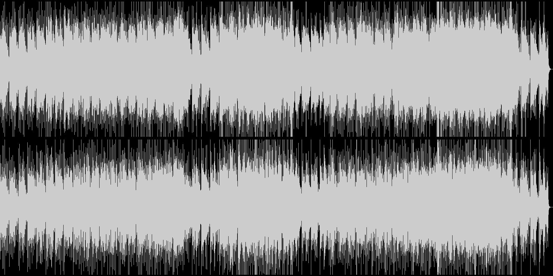アコギメインの明るい爽やか曲の未再生の波形