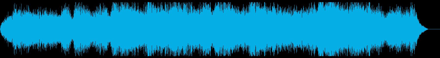 怪しい雰囲気なホラーアンビエントですの再生済みの波形