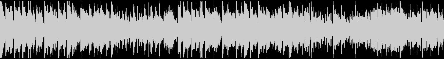 ドラムンベース×生音系ジャズ ※ループ版の未再生の波形