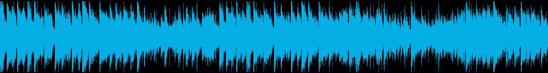 ドラムンベース×生音系ジャズ ※ループ版の再生済みの波形