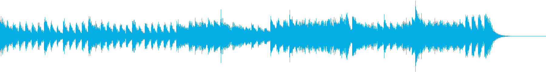 変拍子がインパクト大!のピアノジングルの再生済みの波形