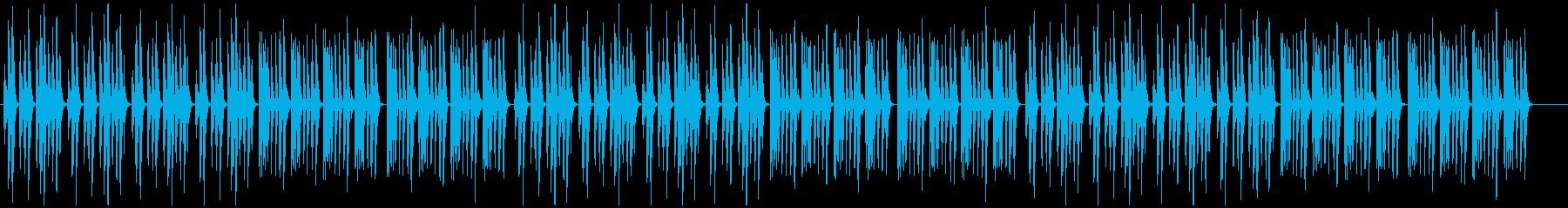 ほのぼの・日常・コミカル・マリンバの再生済みの波形