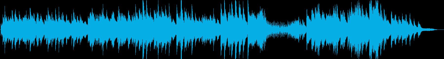 ピアノソロ・優雅な・温かい・CMの再生済みの波形