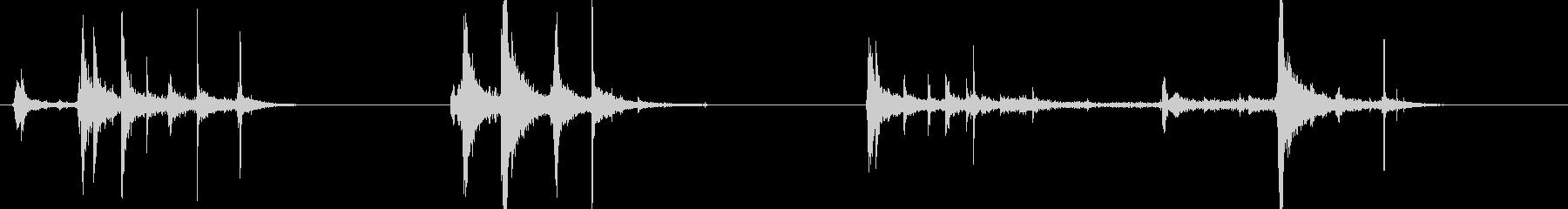 バーロック機構付きウィンドウ1。閉...の未再生の波形