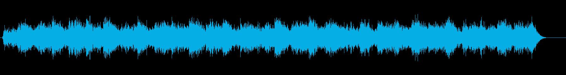 怨念、遺恨、怨恨、不気味、ホラー系の音3の再生済みの波形