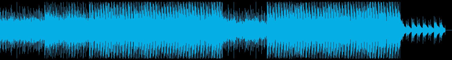 幻想的でピコピコしたドラムンベースの再生済みの波形