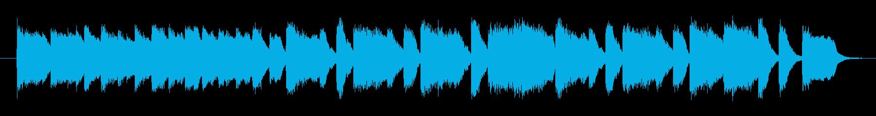 クラシカルなオリジナルピアノサウンドの再生済みの波形