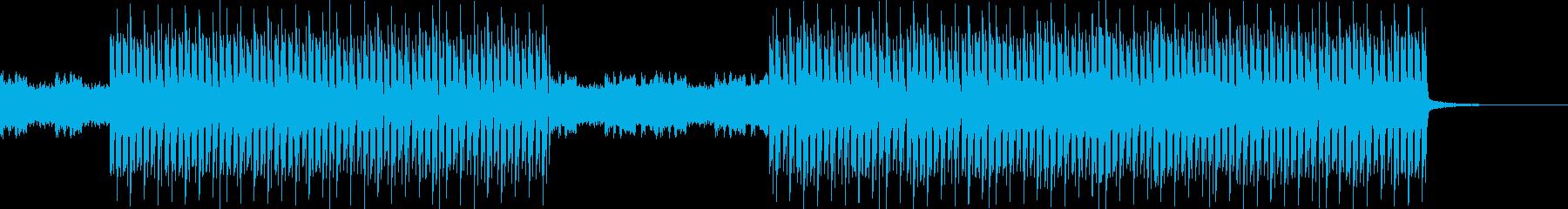 おしゃれ・クール・EDM・ハウス6の再生済みの波形