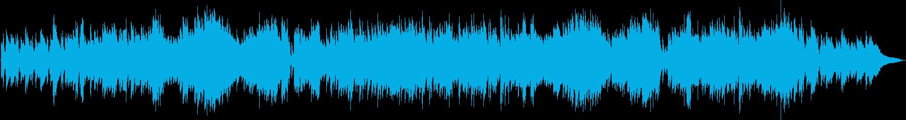 ピアノ生演奏/童謡「七つの子」ジャズ風の再生済みの波形
