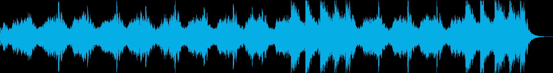 【アンビエント】悲しくも温かい曲の再生済みの波形