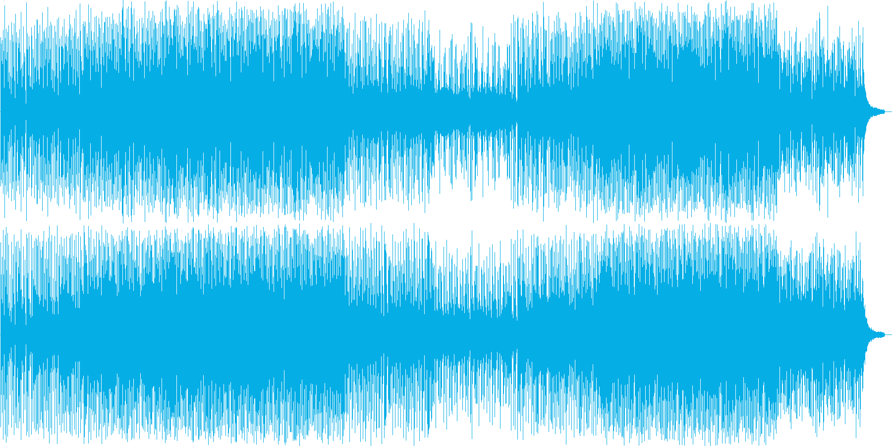 流行の楽器構成。ポップ&アップテンポ!の再生済みの波形