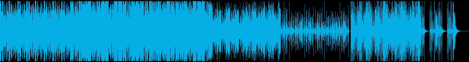 ディープなビートとクールなシンセサウンドの再生済みの波形
