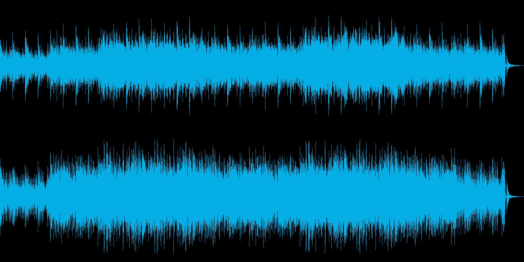 穏やかで少し感動的なピアノ&ストリングスの再生済みの波形