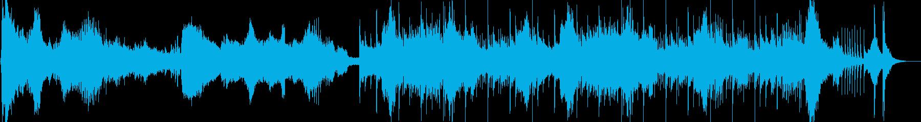 和風 恐怖お岩さん的ホラーの再生済みの波形