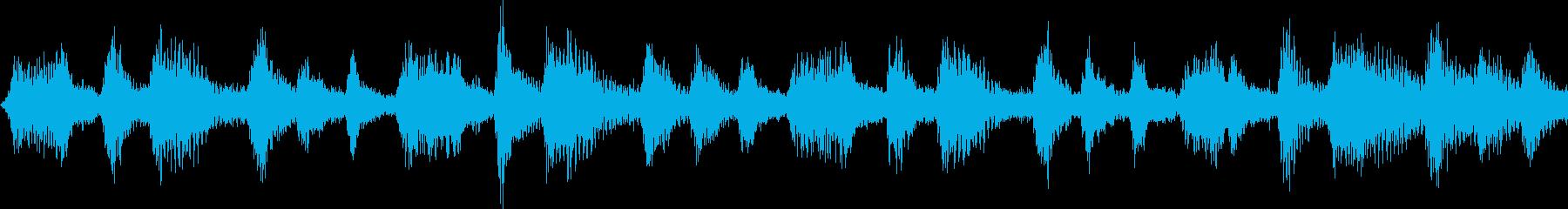 自然をイメージした神秘的なジングルループの再生済みの波形