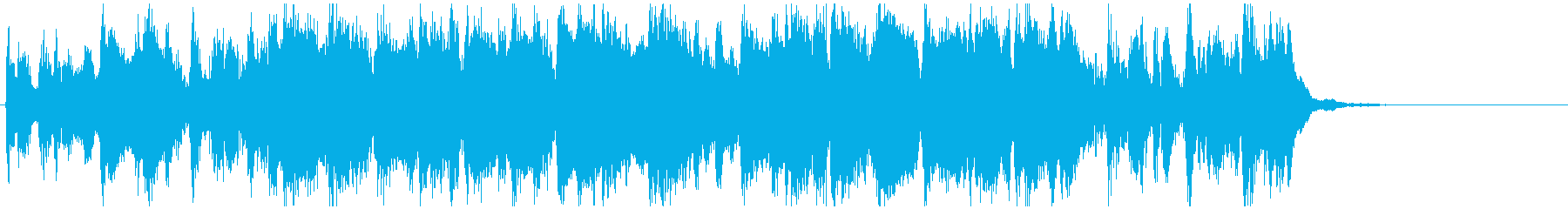 陽気で活発な明るいサンバ 15秒CM用の再生済みの波形
