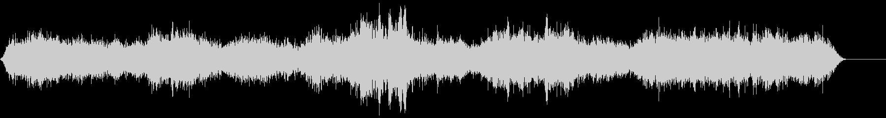 ゾンビ(グループ)うめき声5の未再生の波形