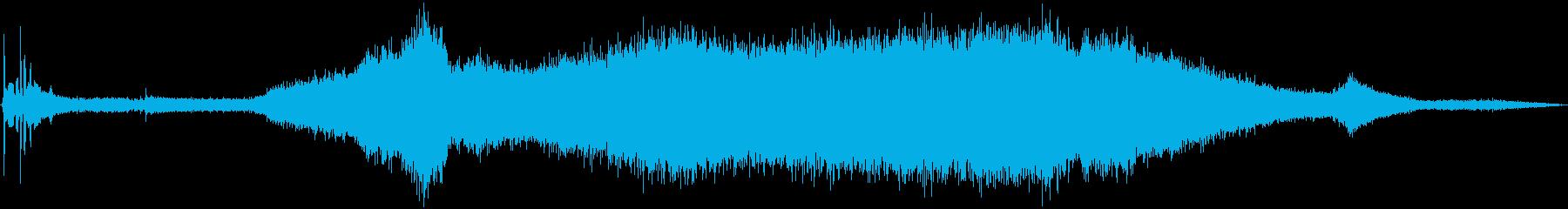 シボレーカマロ:内線:開始、アイド...の再生済みの波形