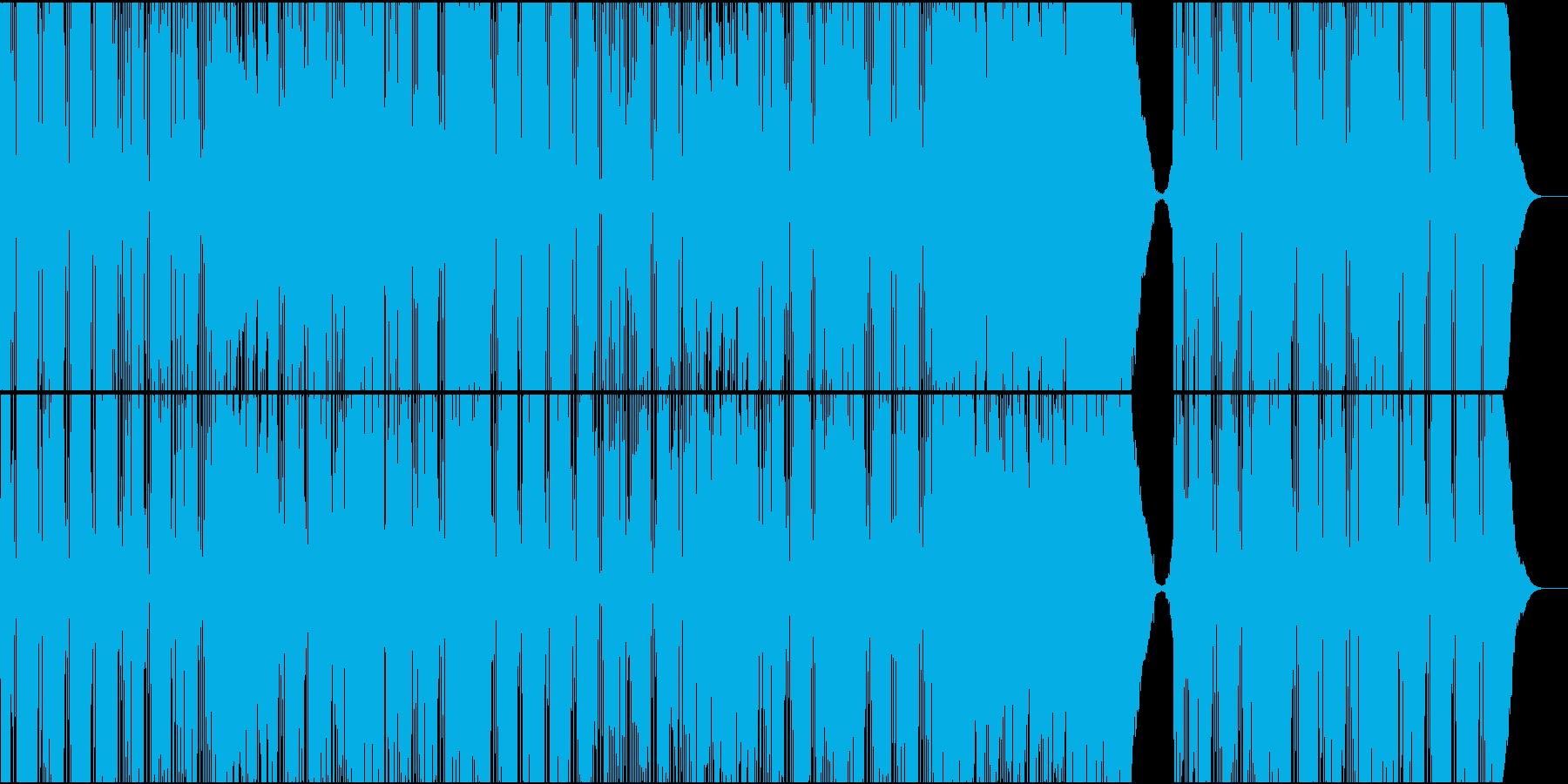爽やかでパワフルな明るいバンドサウンドの再生済みの波形