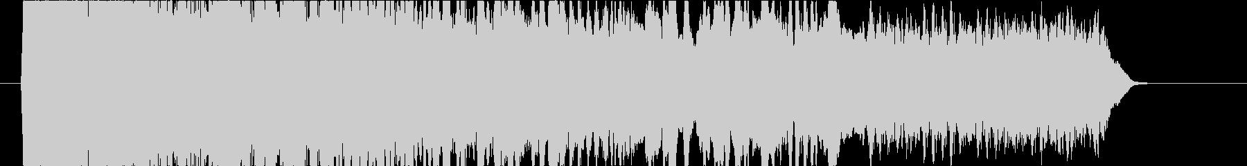 エレキギターのフィードバック音コードEの未再生の波形
