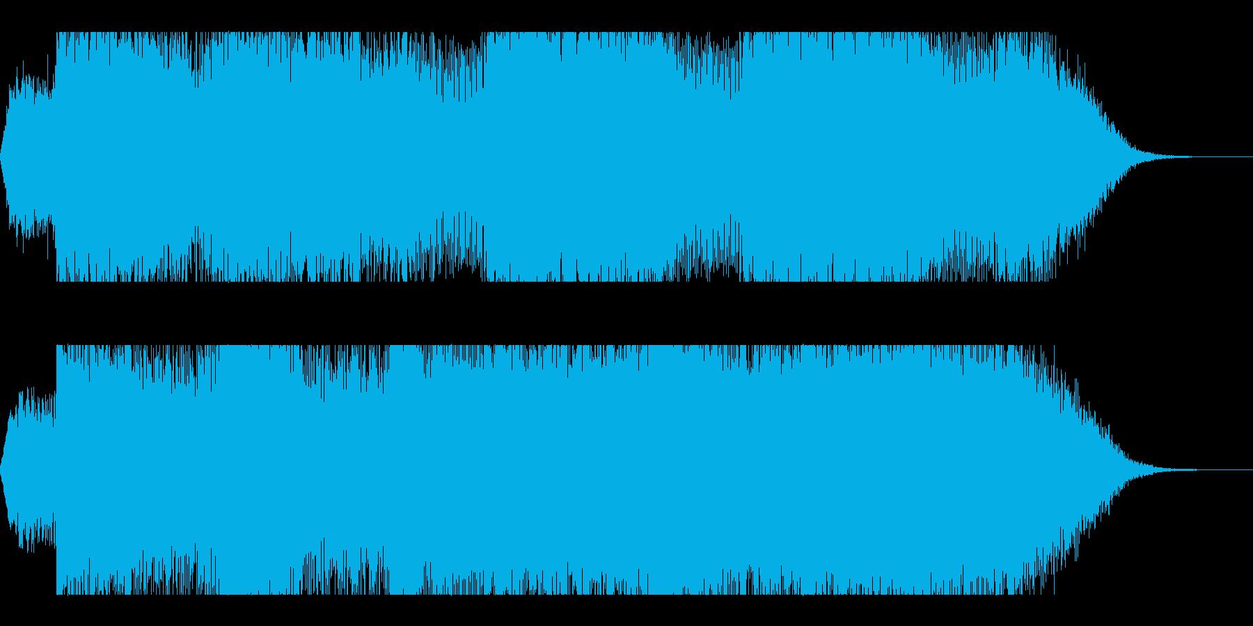 Dark_ホラーで怪しく神秘的-03の再生済みの波形