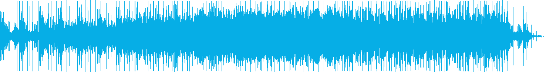 和ものオーケストラBGMの再生済みの波形