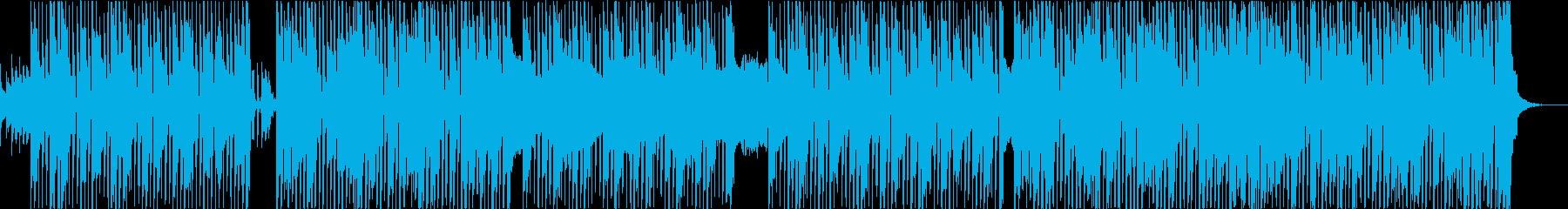 ポップオルタナティブインスト弾む楽...の再生済みの波形