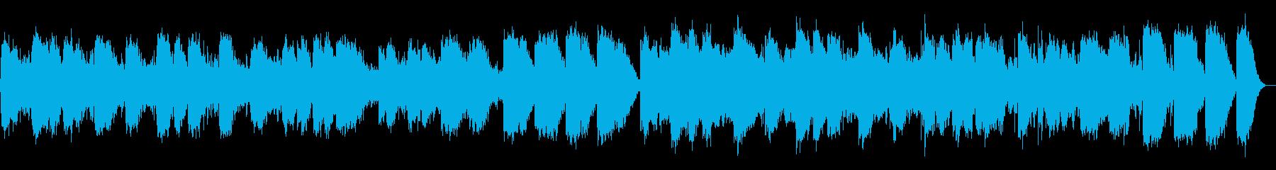 寝落ちしそうなリラックス音の再生済みの波形
