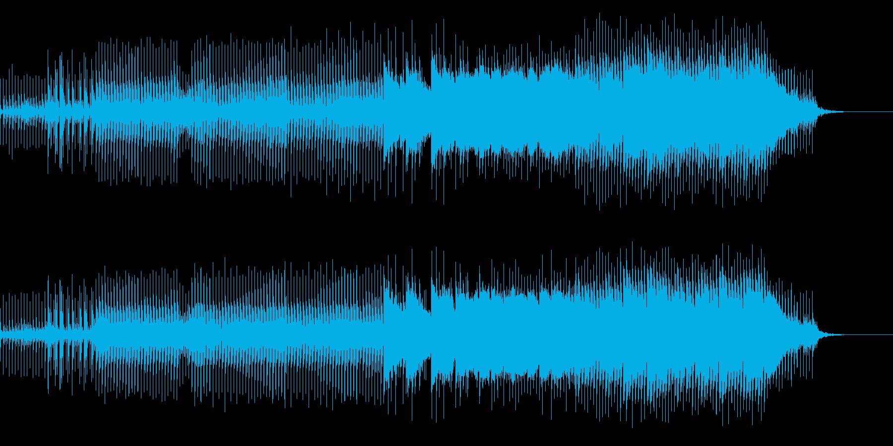 ★海の妖精 神秘的な癒しビートの再生済みの波形