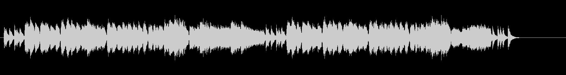 オリエンタルなポップ・ミュージックの未再生の波形