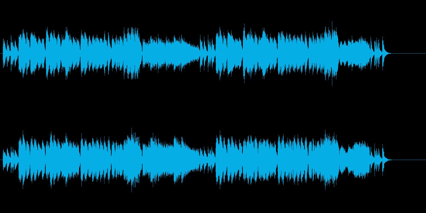 オリエンタルなポップ・ミュージックの再生済みの波形