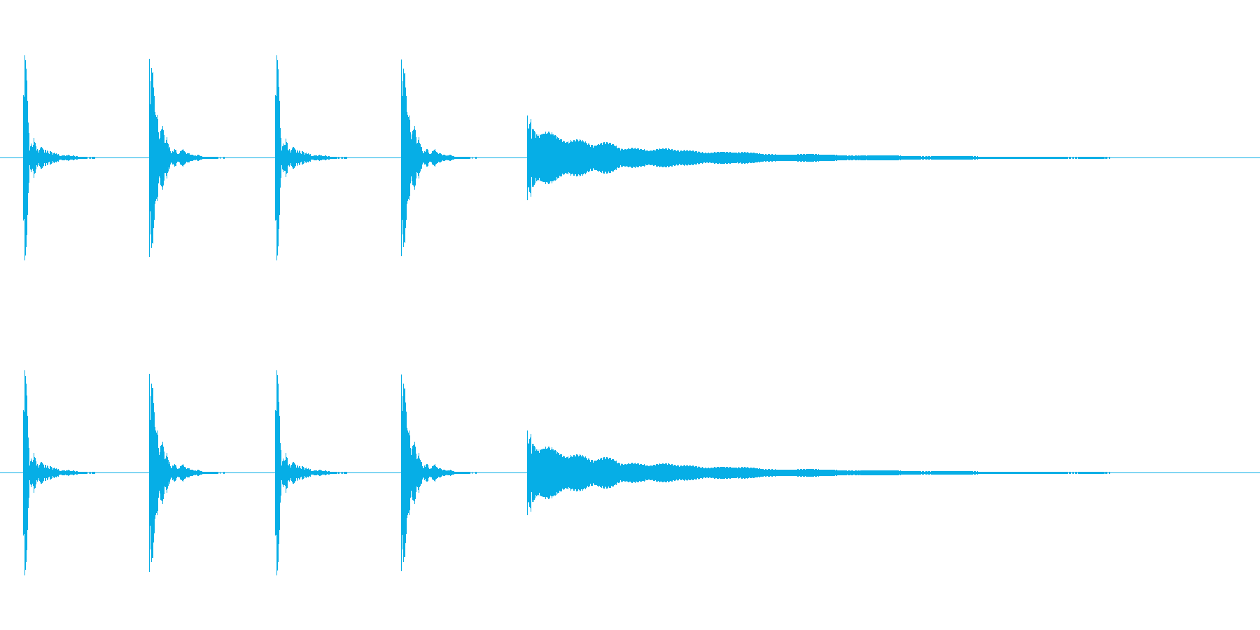 【カウントダウン05-1】の再生済みの波形