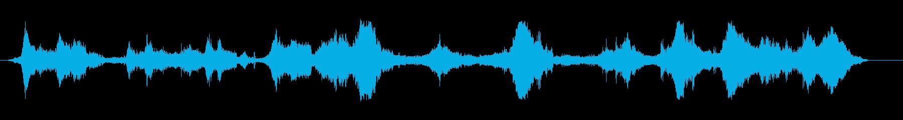 Fia Gt Car;遠方(数人)...の再生済みの波形