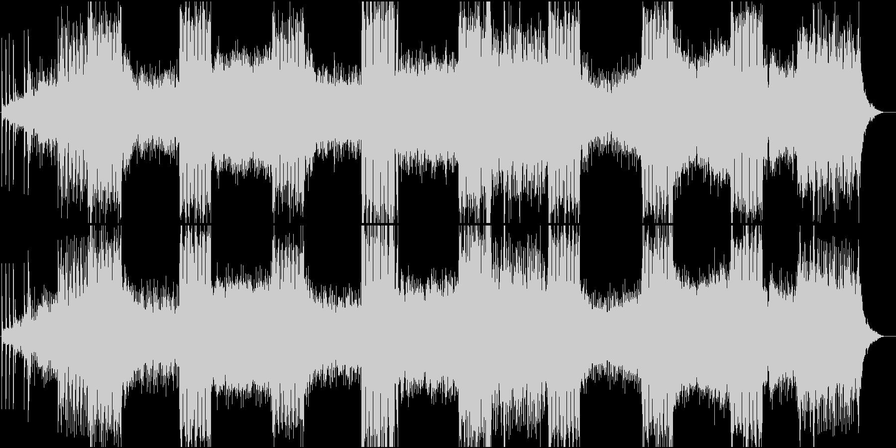 和楽器をベースにした壮大な曲。の未再生の波形
