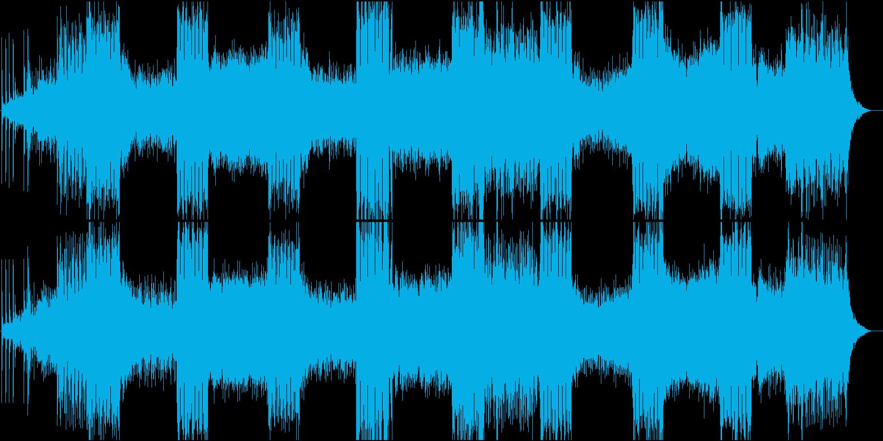 和楽器をベースにした壮大な曲。の再生済みの波形