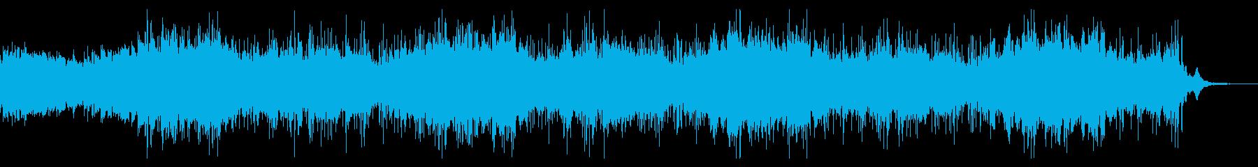 ダークなテクスチャIDMの再生済みの波形