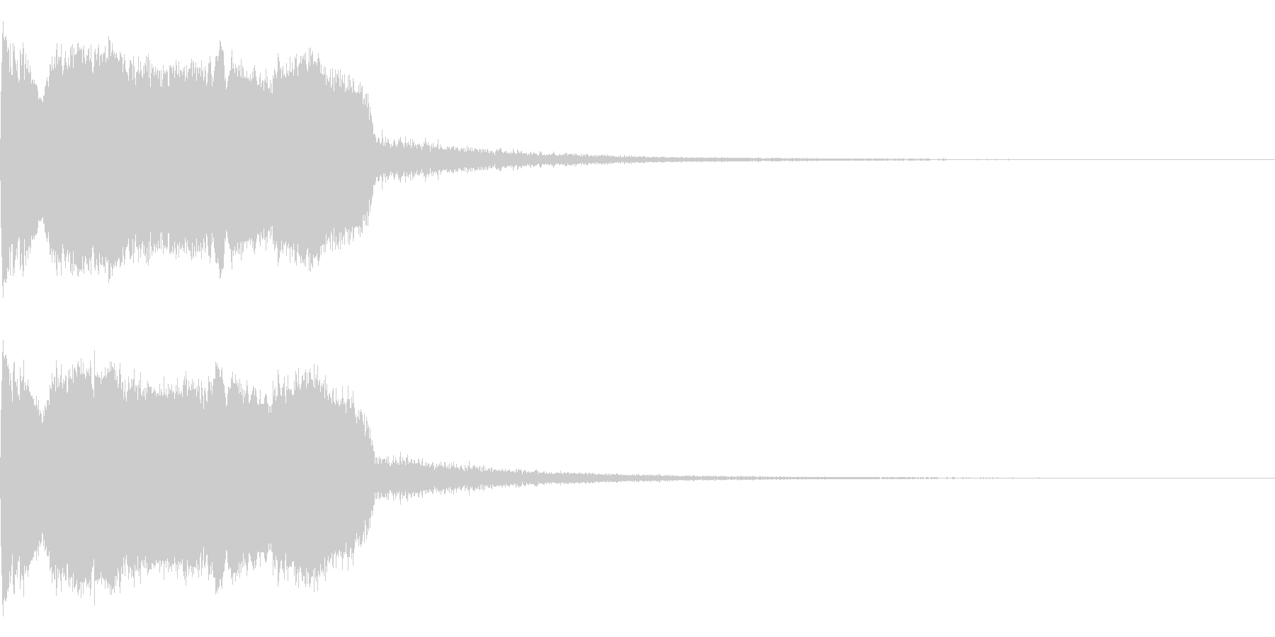 DJFX ヒットチャート発表前SE 18の未再生の波形