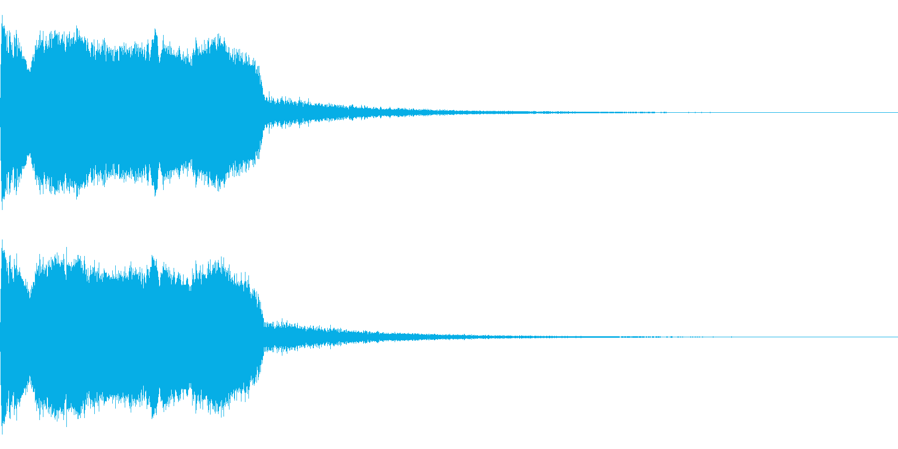 DJFX ヒットチャート発表前SE 18の再生済みの波形