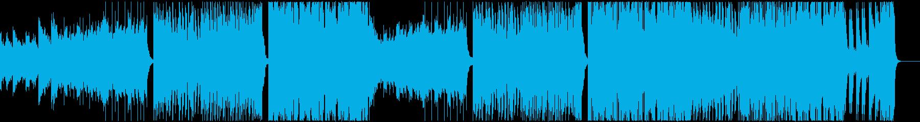 EDM系しっとりとしたフューチャーベースの再生済みの波形