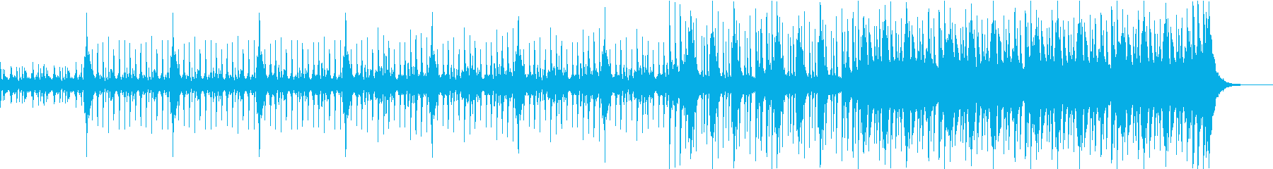 Brave section song with tension's reproduced waveform