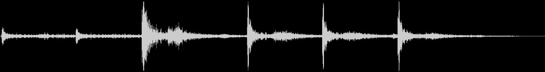 HOWITZER M101 A1、...の未再生の波形