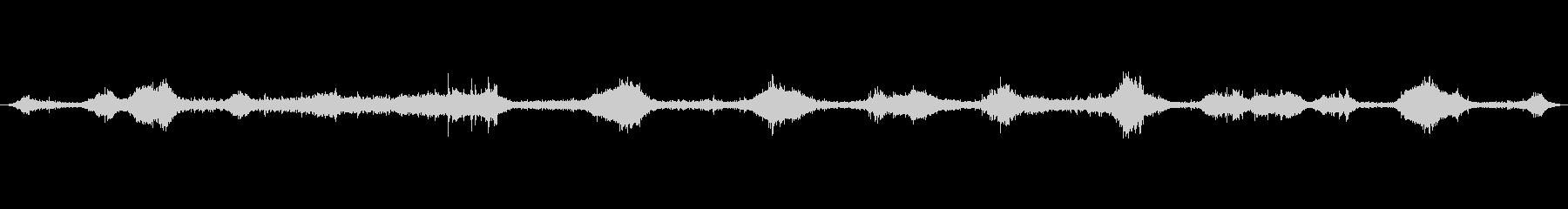 沖縄珊瑚の浜満潮の波音01の未再生の波形