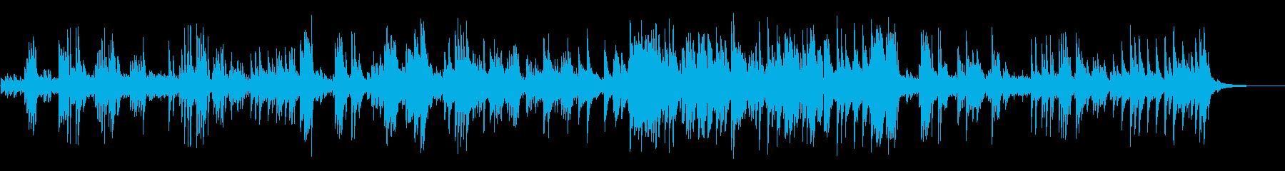 明るくさわやかなピアノオリジナル曲の再生済みの波形