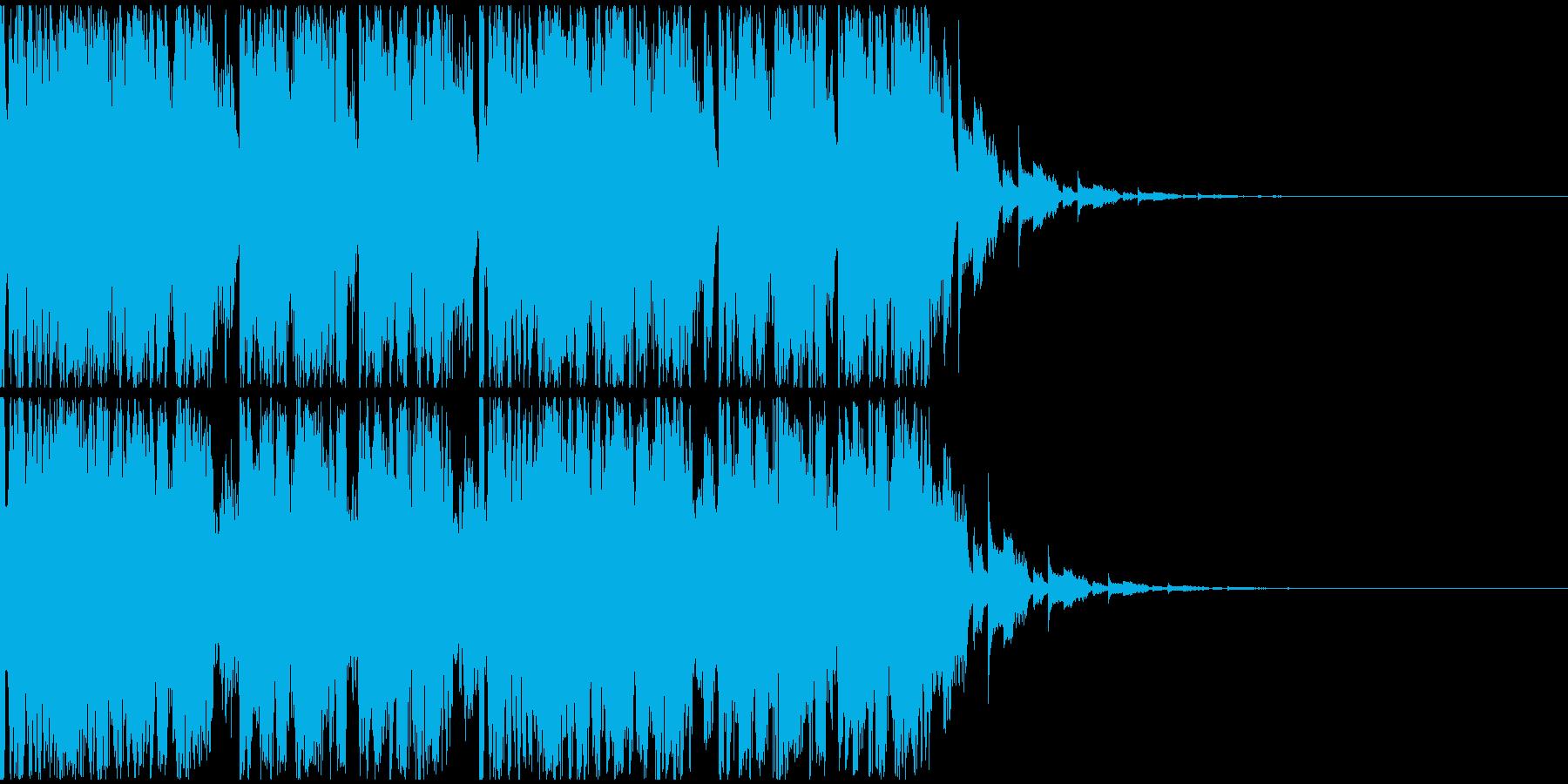 【EDM】トランス、ロング7、ショート4の再生済みの波形