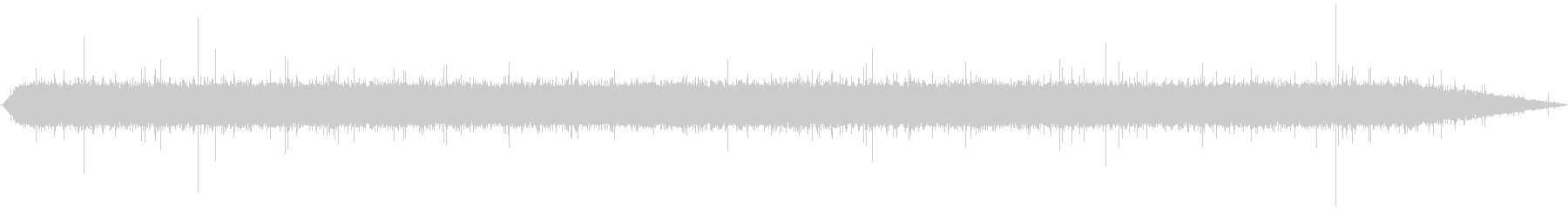 Sound of セセラギ7の未再生の波形