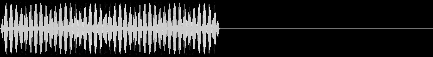 『ピッ』電話のプッシュ音(7)-単音の未再生の波形