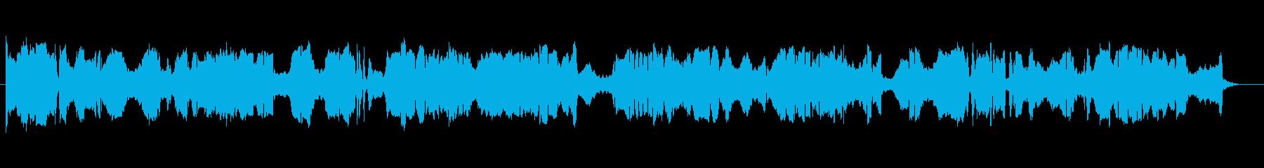 中国風 勇ましさのある二胡独奏の再生済みの波形