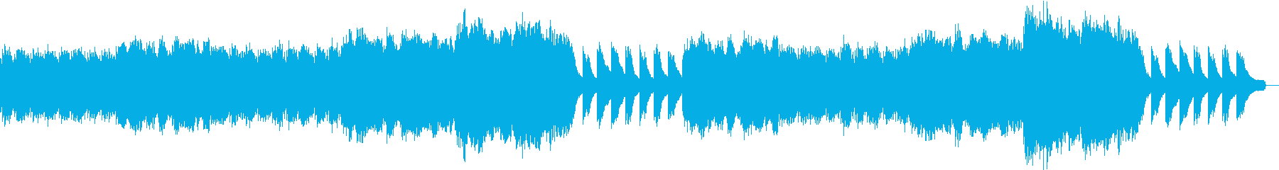 ノスタルジックなヒーリングの再生済みの波形