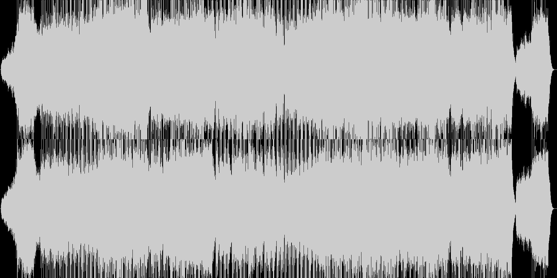 幻想的・ボス戦系の壮大な雰囲気のBGMの未再生の波形