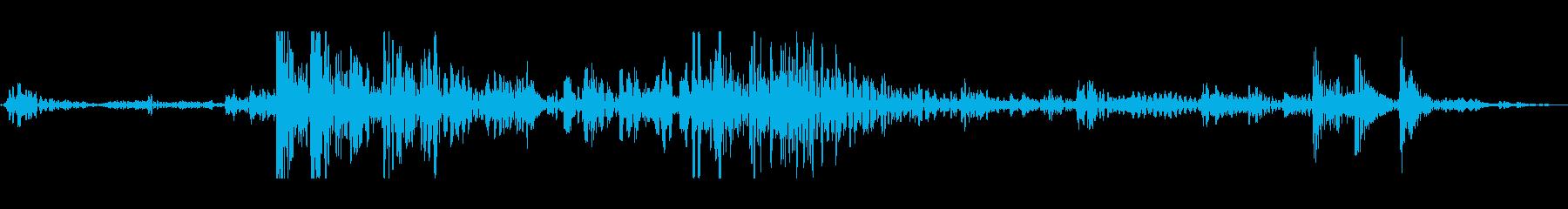 泡低大きな深いcの再生済みの波形